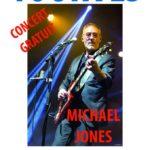Michael Jones – Concert gratuit – Tourves – 26/08/2018