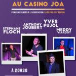 La Soirée d'humour – Casino JOA – La Seyne sur mer – 01/09/2018