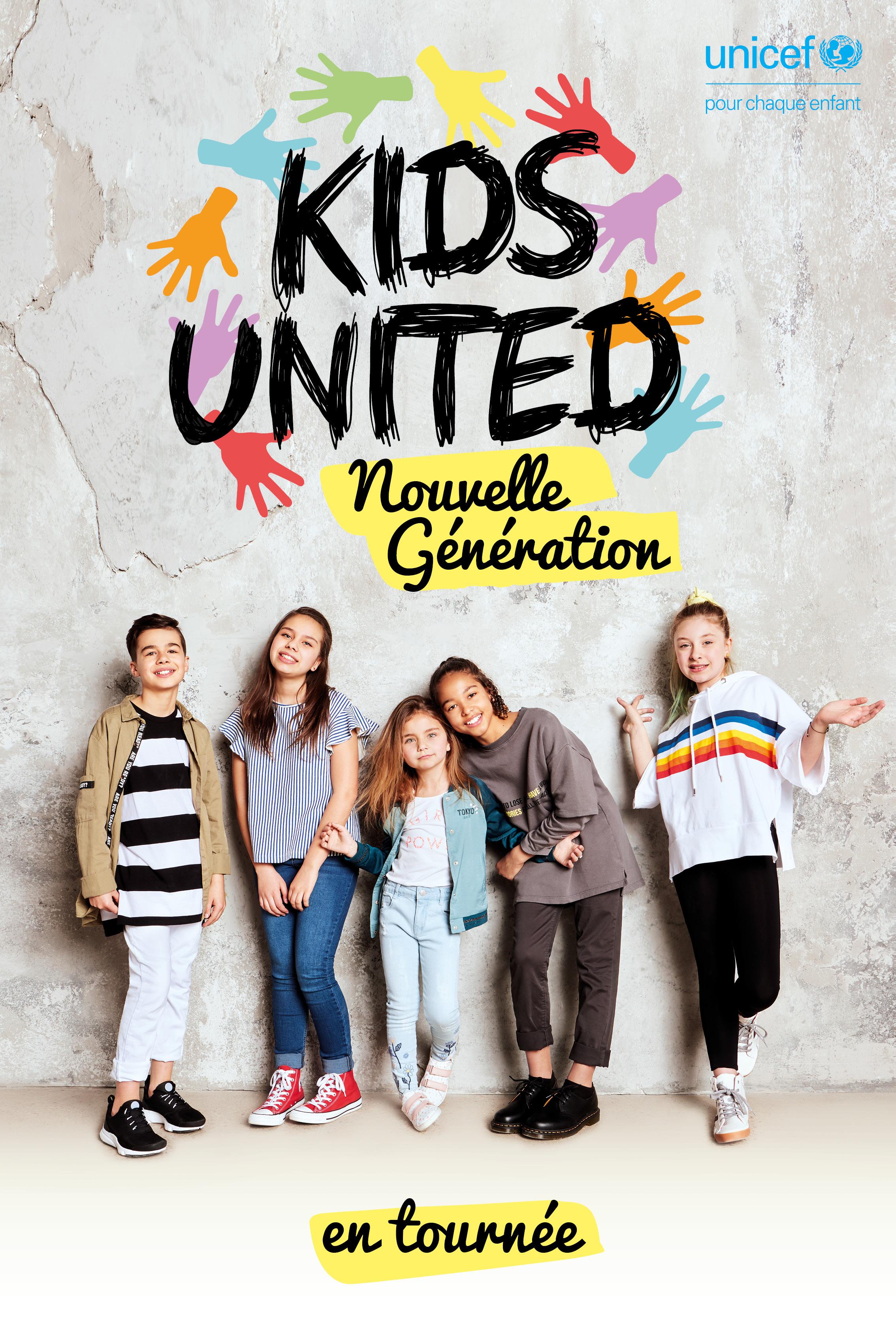 KIDS UNITED Nlle génération affiche
