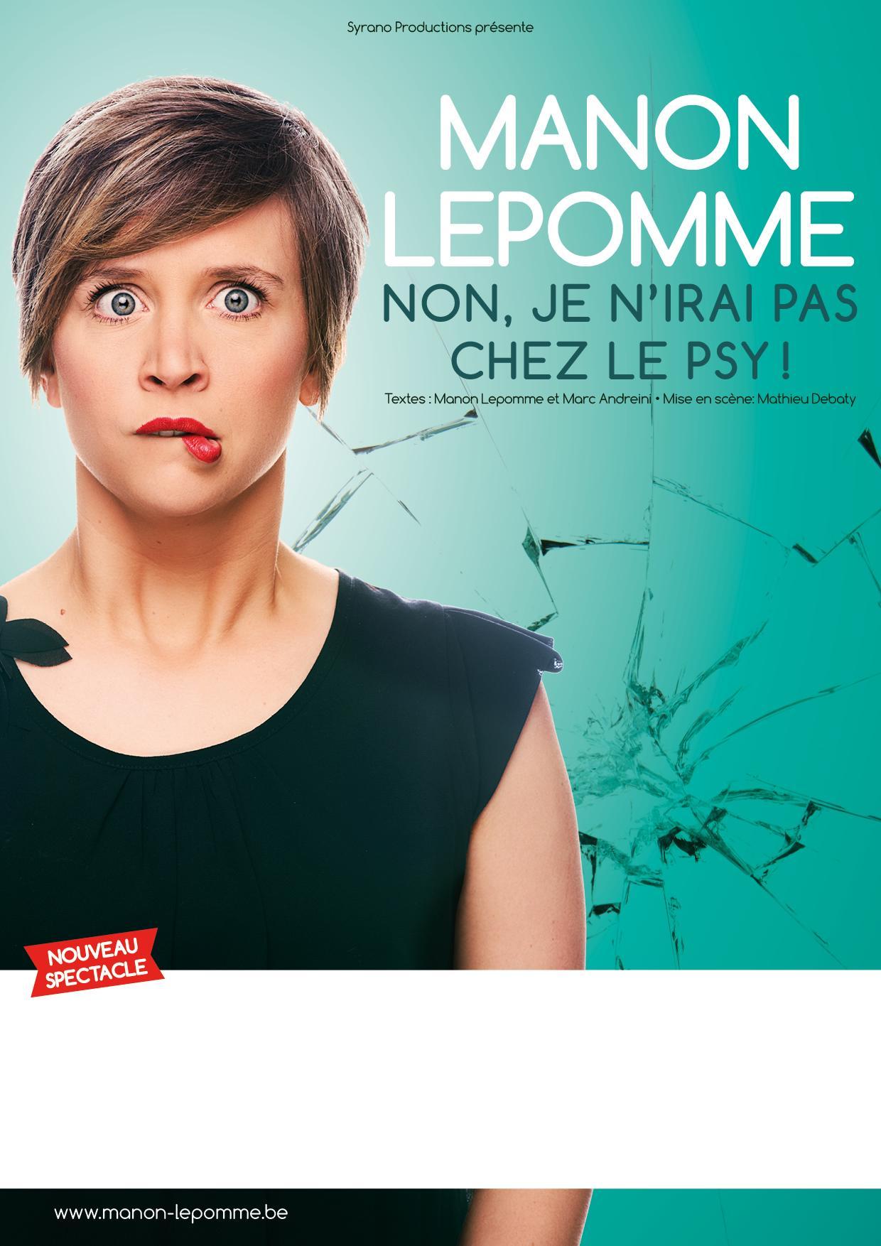 Manon Lepomme Non je n'irais pas chez le psy