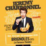"""Jeremy Charbonnel """"Spectacle sans gluten"""" – Famace Théâtre – Brignoles – 15/11/2019"""