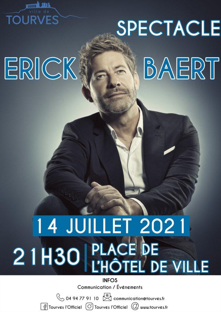 Affiche Erick Baert Tourves_140721